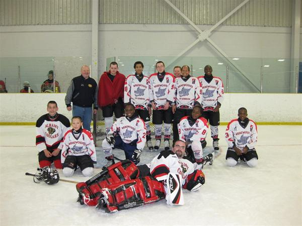 Werewolves were joined by two players from Albany Cougars for the tournament