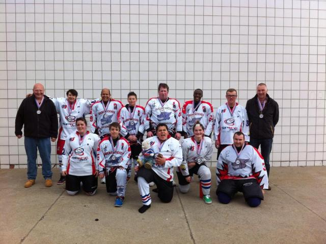 SHI 2014 Team with Medals