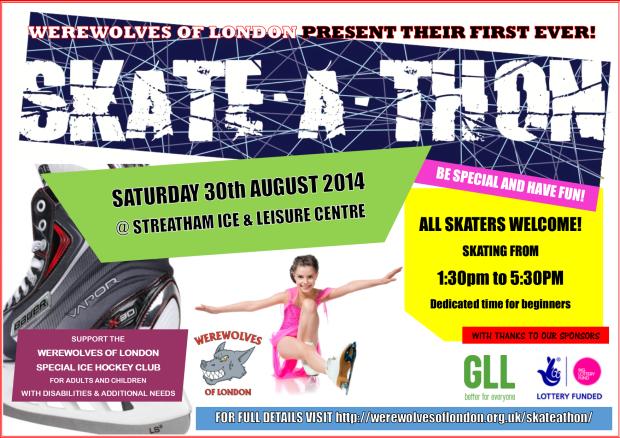 Skate-a-thon poster
