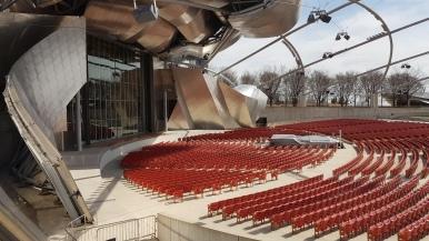 Jay Pritzker Pavilion in Chicago's Millennium Park